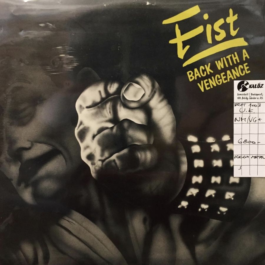 Fist Back With A Vengeance used vinyl | Kalóz Record Store Budapest