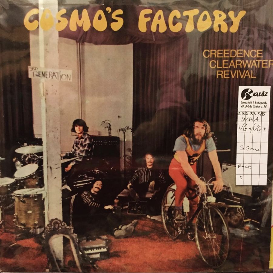 Creedence Clearwater Revival Cosmo's Factory used vinyl | Kalóz Record Store Budapest