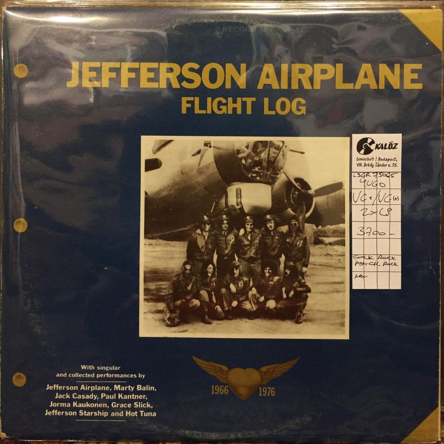 Jefferson Airplane Flight Log used vinyl | Kalóz Record Store Budapest