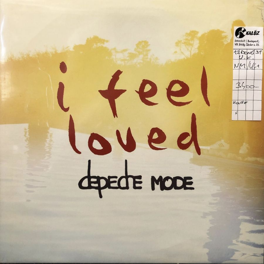 Depeche Mode I Feel Loved használt hanglemez | Kalóz Records Hanglemezbolt