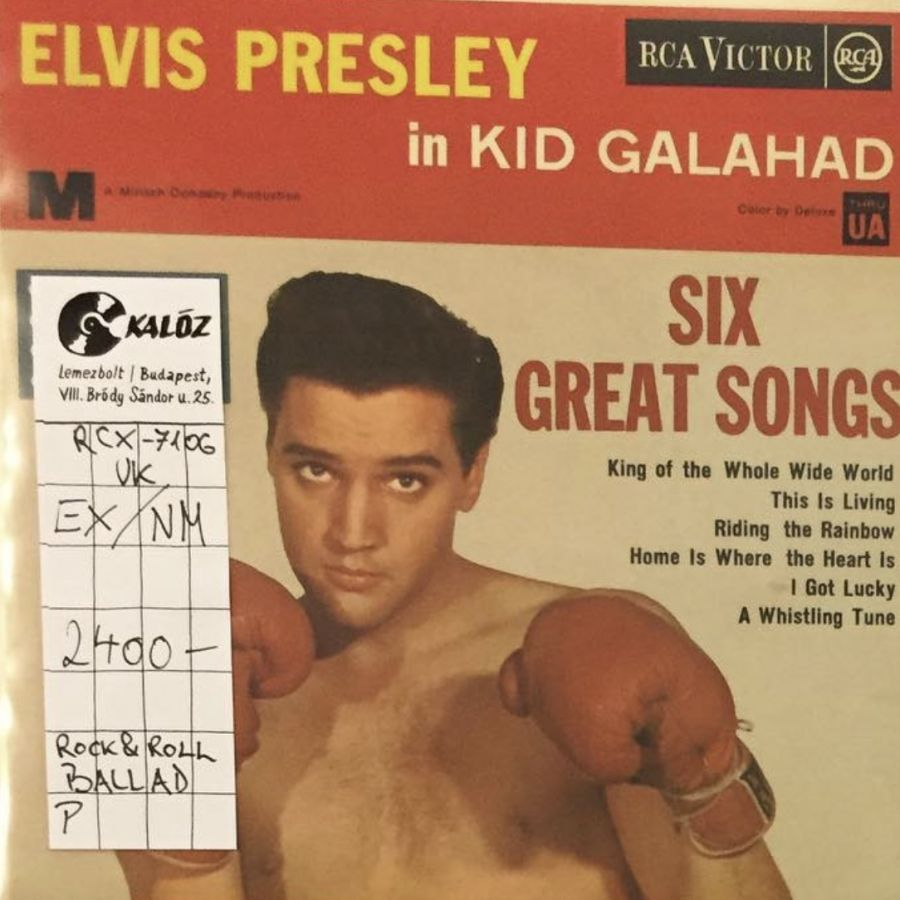 Elvis Presley With The Jordanaires  Kid Galahad used vinyl | Kalóz Record Store Budapest