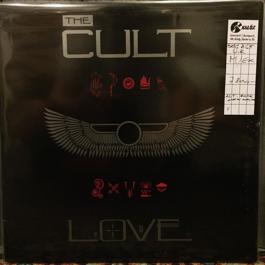 The Cult Love used vinyl | Kalóz Record Store Budapest