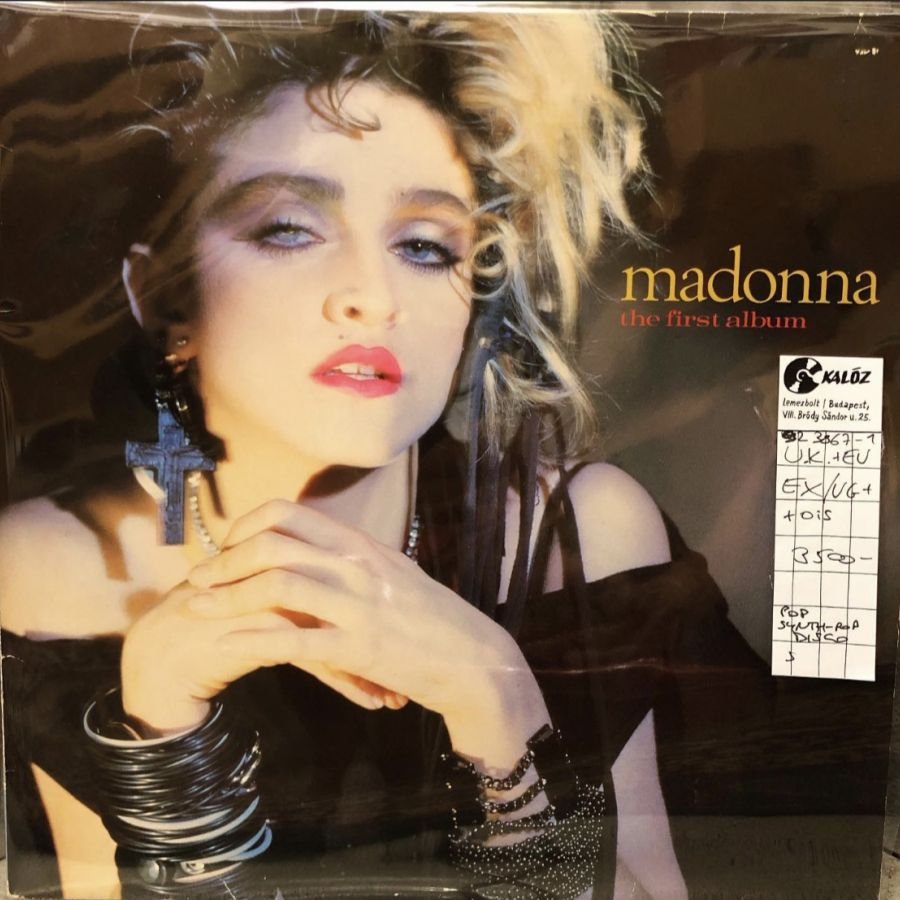 Madonna The First Album használt hanglemez | Kalóz Records Hanglemezbolt